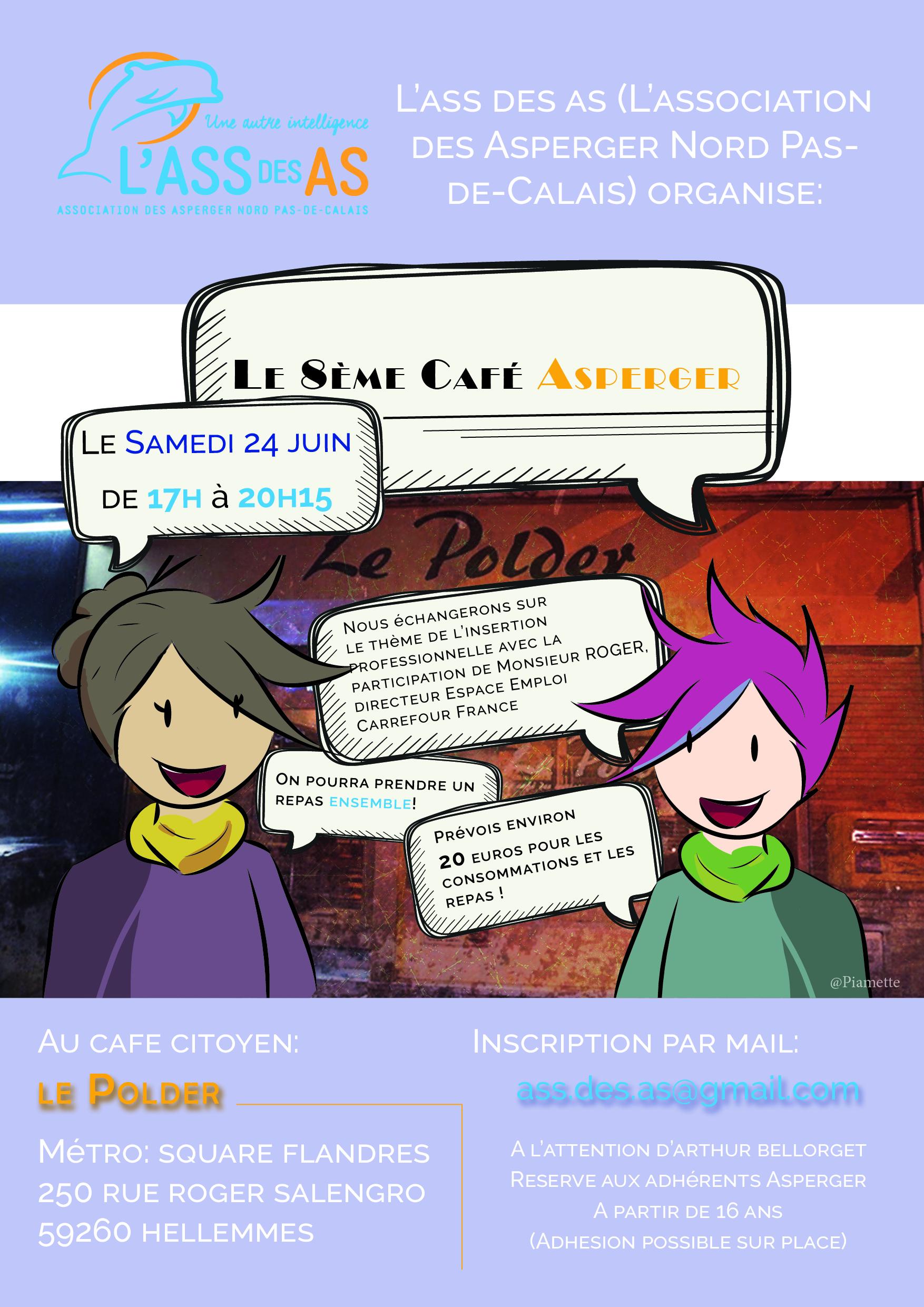 Affiche café Asperger 24 juin